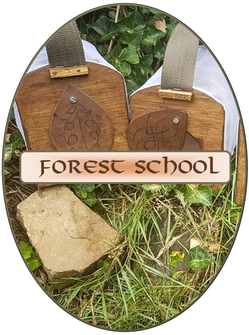 forest school buttons