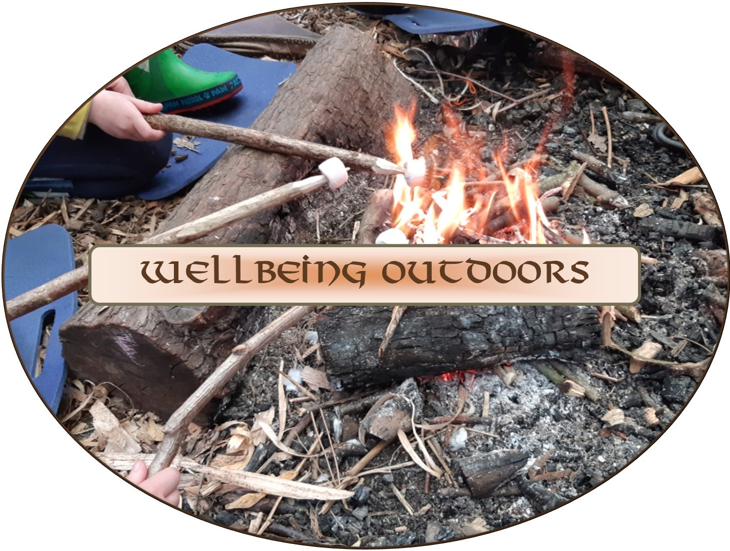 wellbeing outdoors buttons